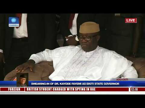 Kayode Fayemi Sworn-In As Ekiti State Governor Pt.2 |Live Event|