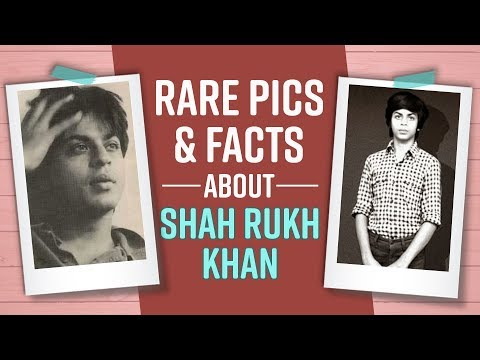 Rare pics and facts about Shah Rukh Khan