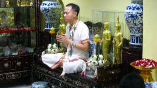 พิธีเปิดบุญเปิดวาสนาเปิดโชคลาภ และ พิธีขอเงินจากพระจันทร์ 10 พ.ค 2560