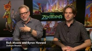 Zootopia's Directors Rich Moore And Byron Howard