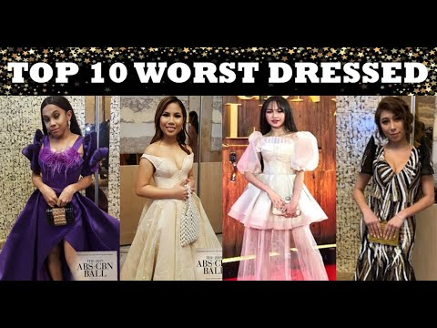 ABS-CBN BALL 2019: TOP 10 WORST-DRESSED!