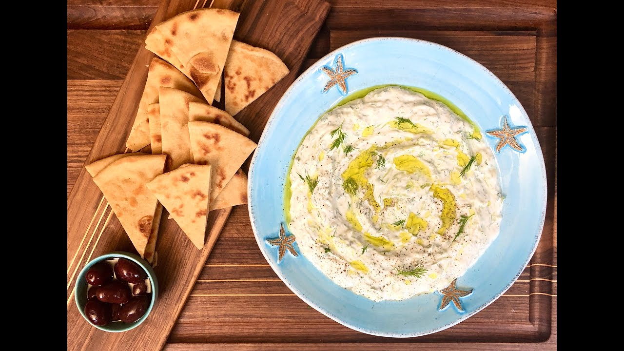 Quarantine Greek Tzatziki Sauce | Christine Cushin