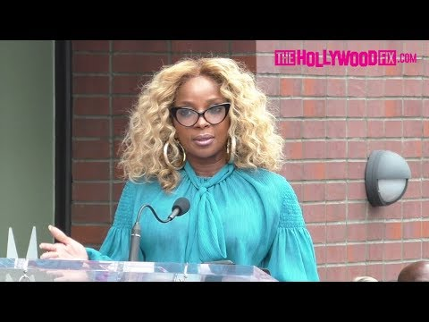 Mary J. Blige Speaks At Taraji P. Henson's Hollywood Walk Of Fame Ceremony 1.28.19 Mp3