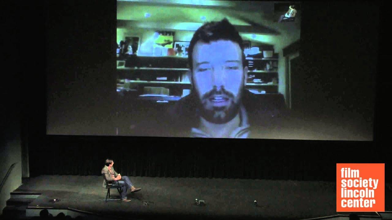 "Q&A with Ben Affleck, ""Argo"""