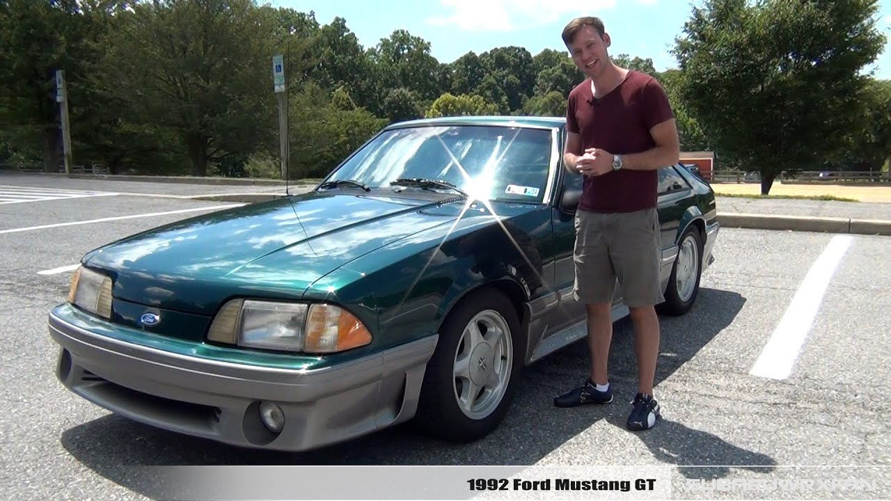 Review 1992 ford mustang gt