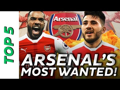 Lacazette, Kolasinac & more: Arsenal's top 5 hottest transfer rumours 🔥🔥🔥