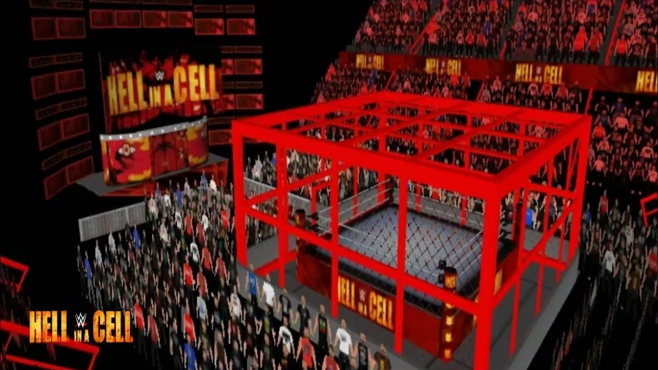 WR3D'19|HELL IN A CELL 2018|WITH NEW RED CAGE STRUCTURE|REAL ARENA|BY RATED  RRS|LINK IN DESCRIPTION