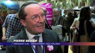 Yvelines | 3 Questions à Pierre Bédier et Patrick Devedjian au Salon de l'agriculture