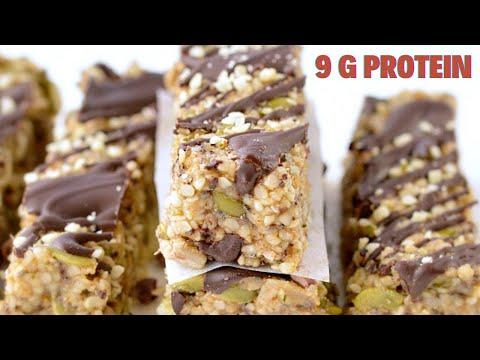 Keto Granola Bars Hemp seeds Bars