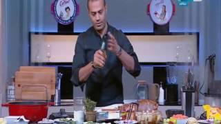 لقمة هنية :طريقة عمل فخذة ضاني روستو بالخضار- بيت كلاوي بالخرشوف والبطاطس - ورق عنب بالنعناع