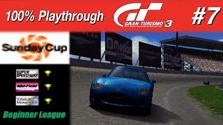 Gran Turismo 3 - #7 - Sunday Cup (100% PT)