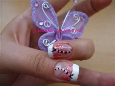 dragonfly - nail art tutorial