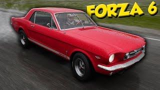 Forza Motorsport 6 на ПК - ПЕРВАЯ ГОНКА на мустанге (Форза 6 на ПК)