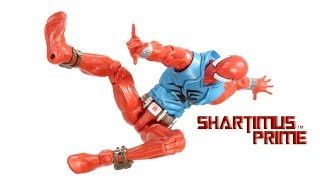 Marvel Legends Scarlet Spider 2015 Spider-Man Rhino BAF Wave Toy Action Figure Review