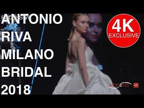 ANTONIO RIVA Milano | FASHION SHOW 2018 | EXCLUSIVE UHD 4k