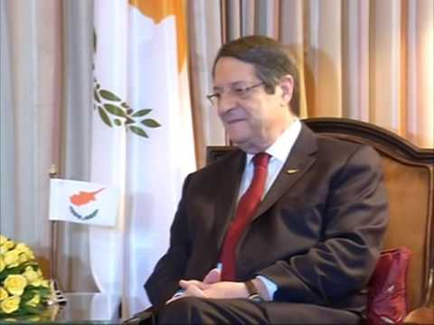 28 Apr, 2017 - Cyprus President meets Indian foreign minister in New Delhi