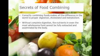 Food Combining for health and weight loss
