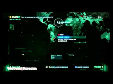 Splinter Cell Blacklist - Gone Dark Missions