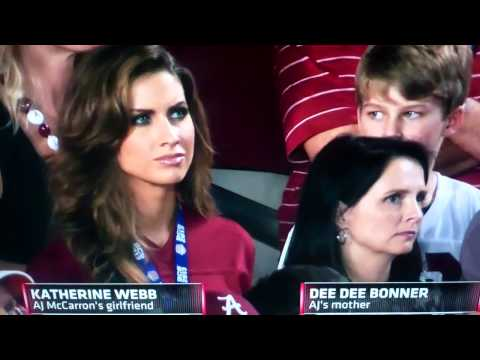 Brent Musburger Goes Crazy over AJ McCarron
