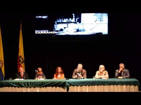 Federico Díaz-Granados. Homenaje a Eduardo Carranza. video-poesía Flecha en la niebla.