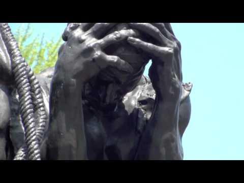 Auguste Rodin: Les Bourgeois de Calais (Burghers of Calais)