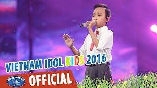 vietnam idol kids 2016 - gala 2 - bong hong cai ao - ho van cuong