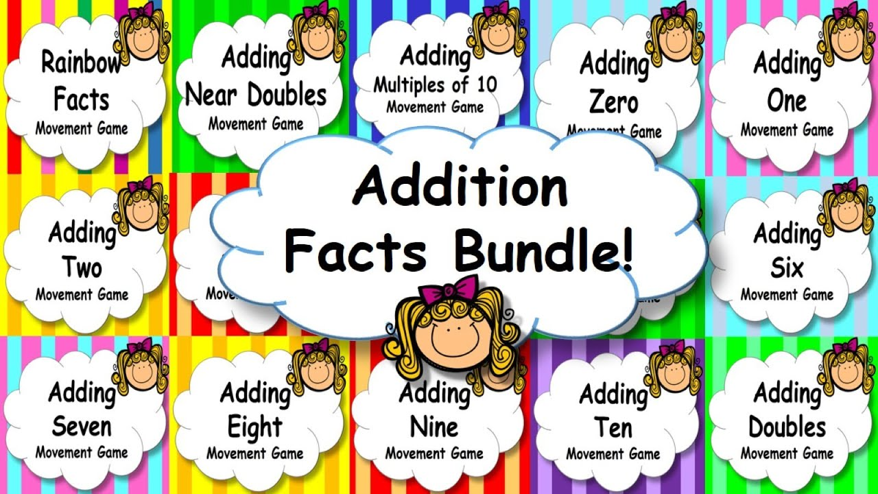 Addition Facts Mental Maths Strategies Game, Brain Break or Maths ...