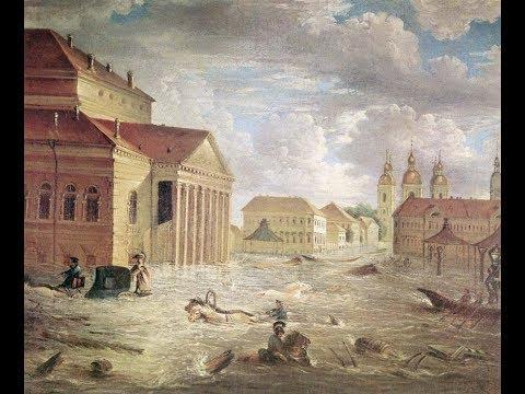 Всемирный потоп 18-19 века, где тела погибших?  18+
