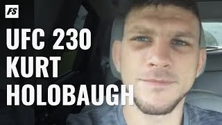 UFC 230's Kurt Holobaugh Talks Shane Burgos Matchup & Training at Team Alpha Male