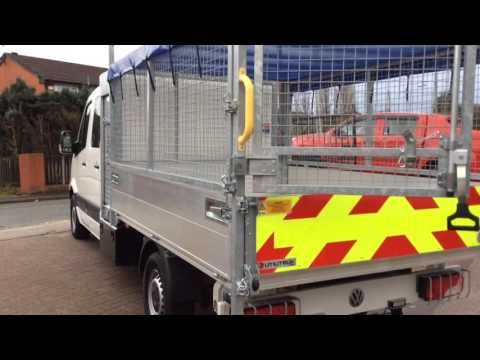 VW CRAFTER TIPPER CREW CAB TREE SURGEON BODY @ CHESHIRE VAN