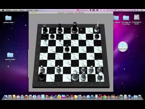 Chess game computer-computer