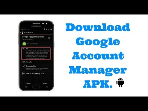 How To Download Google Account Manager Apk And Bypass Frp Lock Youtube