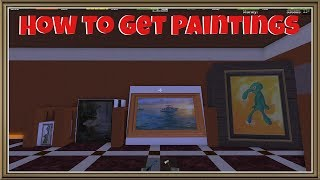 Lumber Tycoon 2: How to Get Paintings