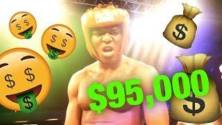 WINNING $95,000 ON KSI VS WELLER