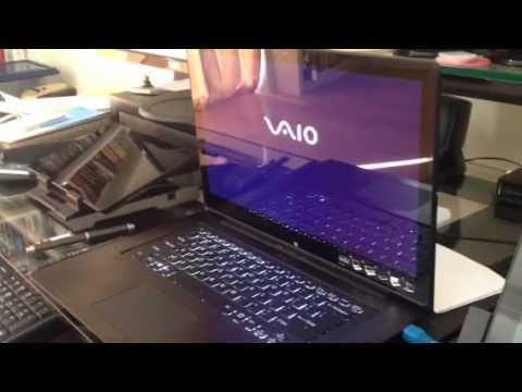 Sony VAIO Flip 15A fan noise - YouTube