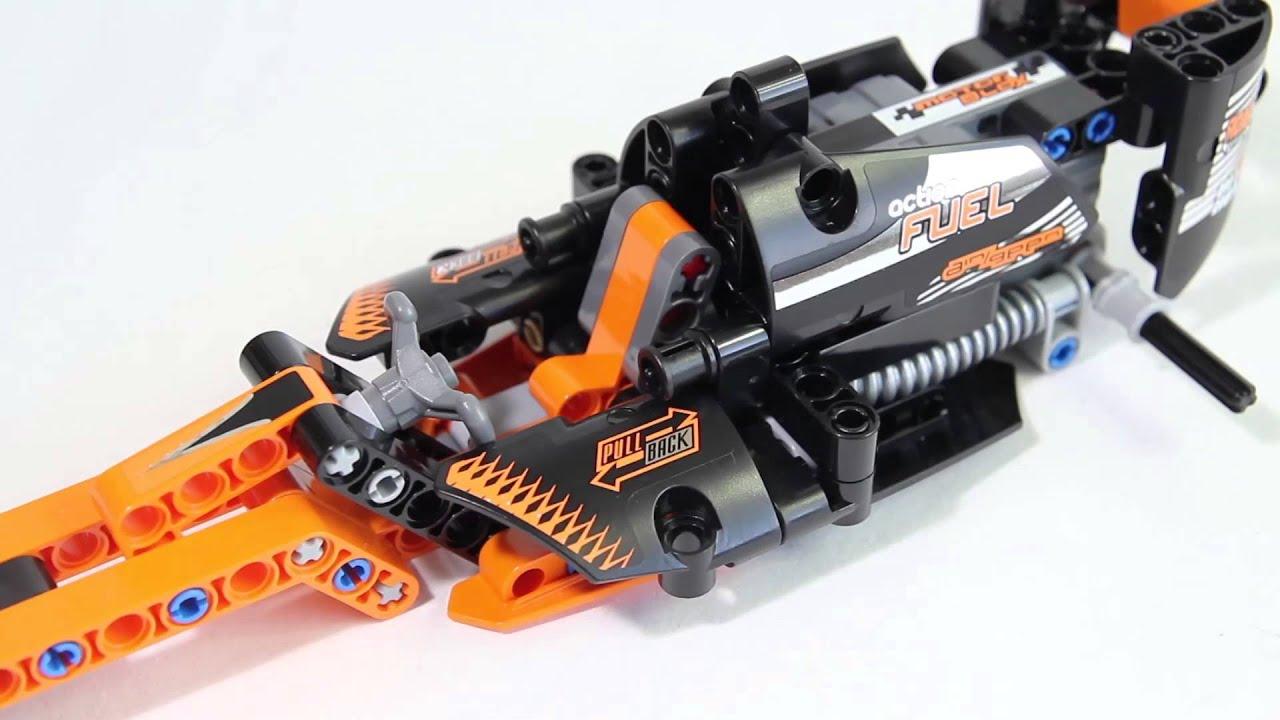 Lego Technic 42026 Action Racer - Lego Speed build - YouTube