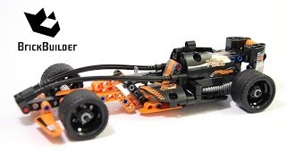 Lego Technic 42026 Action Racer - Lego Speed build