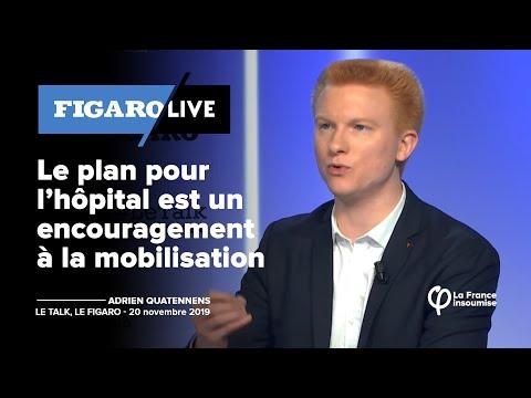 Le plan pour l'hôpital est un encouragement à la mobilisation | Adrien Quatennens
