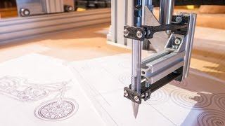 Drawing with a CNC Router and a pen