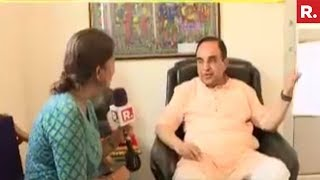 Subramanian Swamy Talks About His Latest Plea