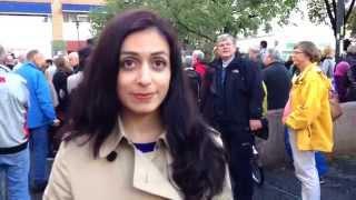 Hadia Tajik (Ap) om demonstrasjonen mot IS i Oslo.