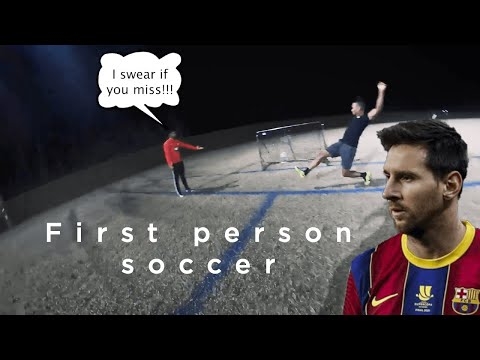 First person soccer