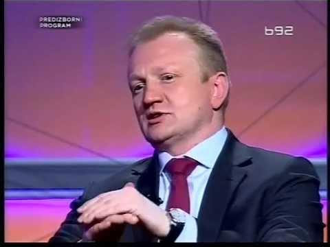 Dragan Djilas DS,Aleksandar Vučić SNS i Čedomir Jovanović LDP u emisiji odluka TV B92 Treci deo