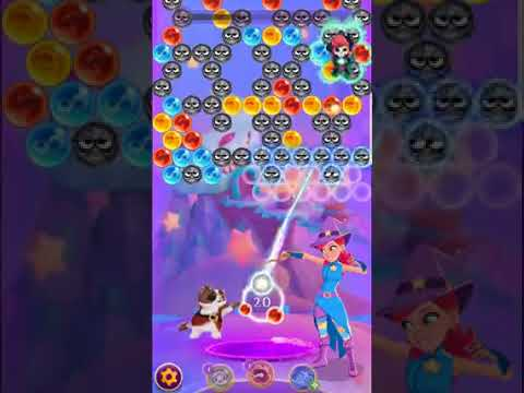 Bubble Witch 3 Saga Level 540 (Last Level 20 Aug. 2017) No Boosters