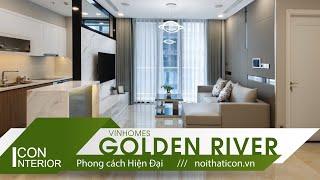 """""""360 độ soi"""" Thiết kế và thi công nội thất căn hộ Vinhomes Golden River"""