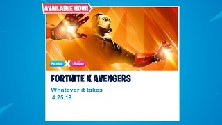 NEW AVENGERS ENDGAME LTM GAMEPLAY! CUSTOM AVENGERS LTM! OCEANIA CUSTOMS! (Fortnite Battle Royale)