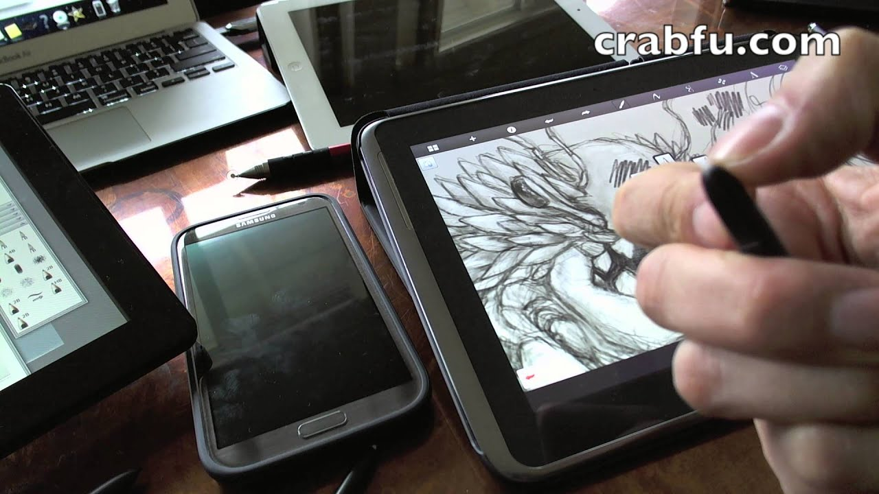Crabfu Review, Digital Art Tools (Pressure Sensitive + Draw on ...
