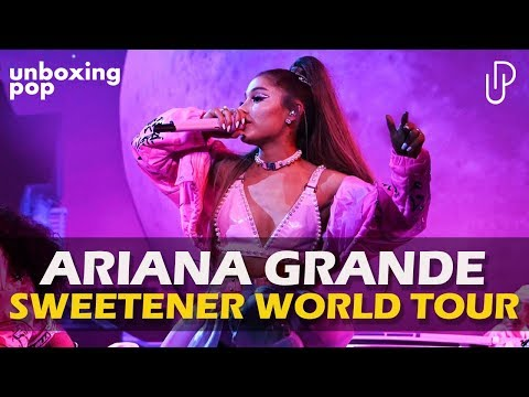SWEETENER WORLD TOUR - ANÁLISE DA NOVA TURNÊ DE ARIANA GRANDE