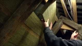 Insulating the attic with rockwool batts - 005