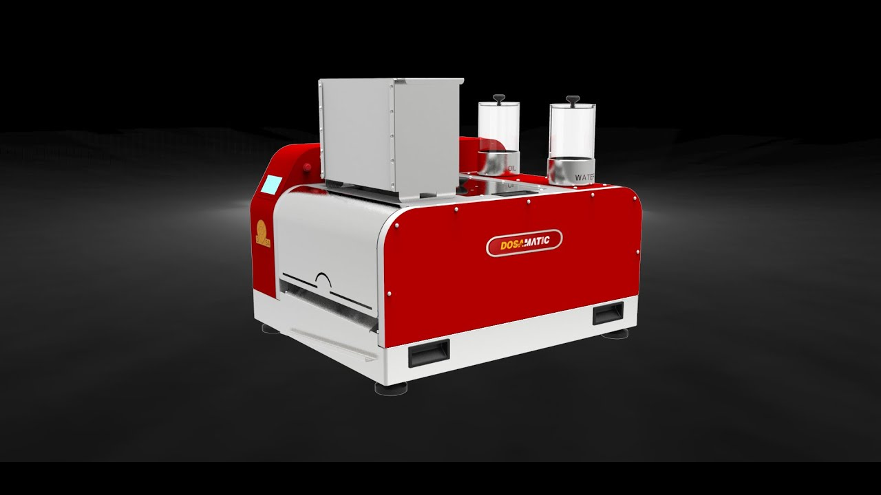 Automatic Table top dosa making machine (NEW) by Mukunda ...